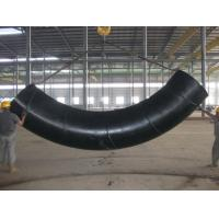 Buy cheap 90 Degree Welded Induction Carbon Steel / Stainless Steel Tube Bending Round Shape from wholesalers