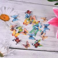 Wholesale Pre Cut Mixed Edible Cupcake Decorations Rice Paper Butterflies For Cakes from china suppliers