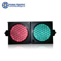 Wholesale High Brightness 100mm Traffic Light , Dust Resistantance LED Traffic Signal Lights from china suppliers