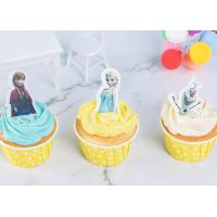 Wholesale Rice Wafer Card Edible Wedding Cake Decorations Personalized Frozen Cartoon Characters from china suppliers