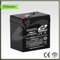 China Best 6v 4ah Rechargeable Sealed Lead Acid Battery on sale