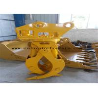 Wholesale CAT / PC / SK / EX Excavator Rotating Grapple Mini Digger Log Grab High Durability from china suppliers