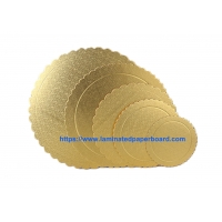 Wholesale Food Grade 2.0mm Cake Board Base /Paper Board Cake Tray Round/ Triangle White Paper  Mat Cake Tray from china suppliers