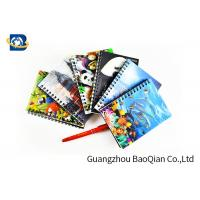Wholesale A4 A5 A6 3D Lenticular Notebook Eco - Friendly Material For Student Stationery from china suppliers