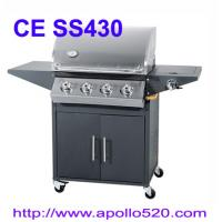 Wholesale 4 Burner Barbecue with side burner from china suppliers