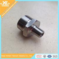 New styel pure and alloy titanium pipe fitting plug from