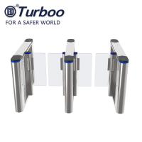 Wholesale Security Speed Gate Turnstile , RFID Face Recognition Turnstile Barrier 220V from china suppliers