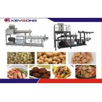 Buy cheap Twin Screw Extruder Textured Soya Protein Meat Making Machine / Extrusion from wholesalers