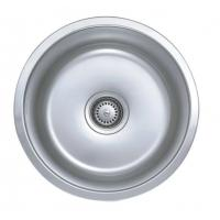 Quality Custom Round Single Bowel 18 Gauge Stainless Steel Sink For ...