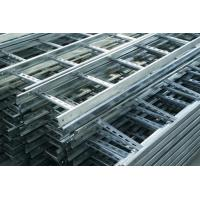 Wholesale Heat Insulation Pre Galvanised Cable Tray , Ladder Type Cable Tray Light Duty from china suppliers
