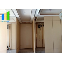 Wholesale Sliding Screen Removable Wall Partition Movable Panel Soundproof Door Divider Restaurant Hall Partition from china suppliers