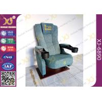 Wholesale Pushing Back Entertainment Movie Theater Seats / Home Cinema Seating from china suppliers