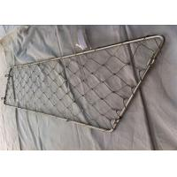 China 2.0mm Dia Animal Enclosure Netting Rust Resistant Stainless Steel Material on sale