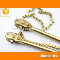Buy cheap Manufacturer China Non Sparking Chain Pipe Spanner Wrench ,600*150mm, safety tools from wholesalers