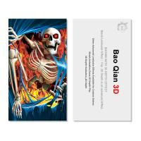Wholesale Plastic PET 3D Flip Lenticular Card Printing For Hotel , Restaurant from china suppliers