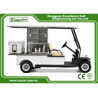 Wholesale 2 Passenger Electric Food Cart For Park Services With Trojan Battery from china suppliers