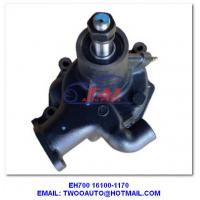 Wholesale Eh700 16100-1170 Water Pump , 16100-1170 Truck Engine Parts Eh700 Diesel Water Pump For Hino from china suppliers