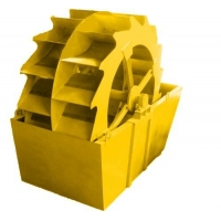 Wholesale 280tph-500tph Bucket Wheel Sand Washer , AC Motor Sand Washing Equipment from china suppliers
