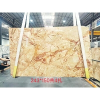Buy cheap Phoenix Calacatta Gold Marble Slab For Wall Panel from wholesalers