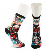 Wholesale Adults  OEM Service  Breathbale Eco-friendly Custom Made Size 3D-Printing Socks from china suppliers