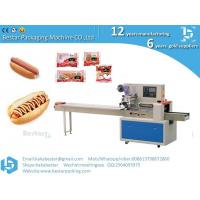 China China Manufacturer Multi-function Flow Automatic Bakery Hot Dog Bread Packaging Machinery on sale