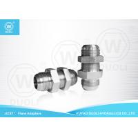 China Carbon Steel JIC 37 Degree Flare Fittings Hydraulic Bulkhead Fittings Connector on sale