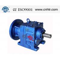 China R87 Two Stage Helical Gear Reducer Motor Engines / Precision Worm Gear on sale