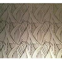 Wholesale 304 Etched Golden Mirror Stainless Steel Sheet For Wall Decorations from china suppliers