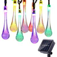Buy cheap 50 LED Decorative LED String Lights Steady Solar Flower Lights Ni-MH AA 600mAh from wholesalers