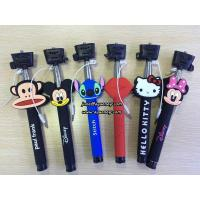 Wholesale Wholesale Cartoon Wired Selfie Stick Monopod, without bluetooth design from china suppliers