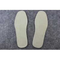 Wholesale OEM Grey, Beige or Custom Winter Warm Wool Felt Insoles / Shoes Pad from china suppliers
