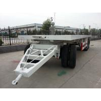 Wholesale Draw Bar Flat Bed Trailer For Tanzania from china suppliers