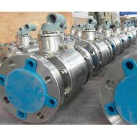 Wholesale Cast Steel Floating Ball Valve Blowout Proof Stem Reduced Bore Nace MR-01-75 from china suppliers