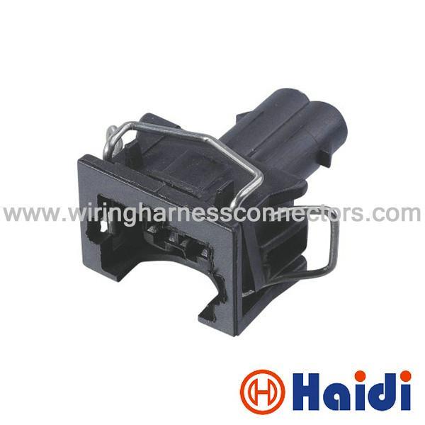 size oem crimp terminal connector 2 pin automotive connector female black waterproof 106230124. Black Bedroom Furniture Sets. Home Design Ideas