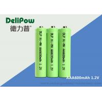 Buy cheap 1.0v~1.2V AAA NIMH Rechargeable Battery With UL / CE / ROHS Certificate from wholesalers