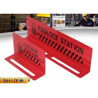 Wholesale ZC-S002 Red Lockout Station / Durable Steel Material 282g Lockout Tagout Station from china suppliers