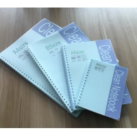 Wholesale ESD Reading A5 50 Sheets PVC Cover Spiral Cleanroom Notepads from china suppliers