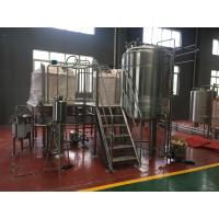 Wholesale Small Capacity Beer Brewing System 10Hl Fermentation Tanks Stainless Steel Fermenter from china suppliers