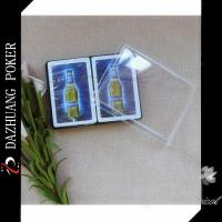 Wholesale BARBICAN MALT BEVERAGE DOUBLE DECK ADVERTISING PLASTIC POKER CARDS FOR ARABIA MARKET from china suppliers