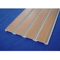 Customized 4ft 8ft Slat Wall Panels Fixture For Pantry Storage With Smooth Surface Manufactures