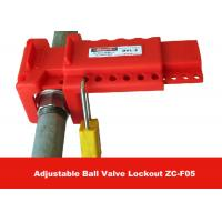 Wholesale Allow 7 Padlocks PP Material Economic Ball Valve Lockout for Ball Valves from china suppliers