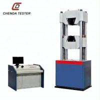 Wholesale 60 Ton Computerized Hydraulic Universal Testing Machine Price For Bolt Tensile Strength Test School Laboratory Equipment from china suppliers