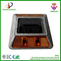 Wholesale Hot sale IP68 aluminum solar road marker,solar flashing road cat eye ,aluminum solar road stud various color from china suppliers