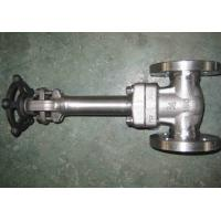 Quality LF2 LF3 API 602 Forged Steel Valve , Cryogenic Gate Valve Extended Bonnet Welded for sale