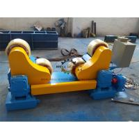 Wholesale Pipe Vessel Welding Rotator With AC Frequency Converter 20T GZ-20 PU rollers from china suppliers