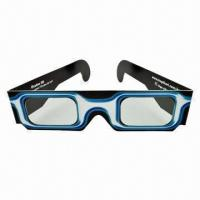 China Paper Linear Polarized 3D Glasses, Suitable for Watching 3D Movie at Normal or IMAX Cinema on sale