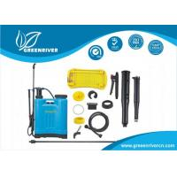 Wholesale Yellow , blue Knapsack Sprayer / Back Pack Sprayer with plactic Gun GR-12-02 from china suppliers