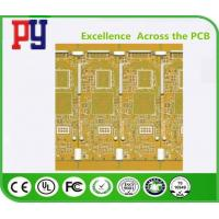 Wholesale Yellow Solder Mask Color Multilayer PCB Circuit Board 6 Layer Fr4 1.6 1OZ High TG from china suppliers