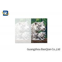 Wholesale Lovely Animals 3D Image Lenticular Card Printing Two Sides CMYK Offset Printing from china suppliers