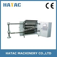 China Automatic Folding Paper Slitter and Rewinding Machine,Slitter Rewinder For PVC Film,Adhesive Label Slitting Machine on sale